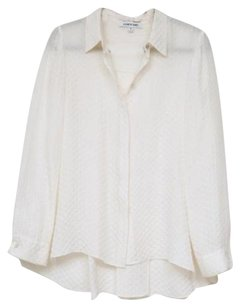 Elizabeth and James Silk Top Cream