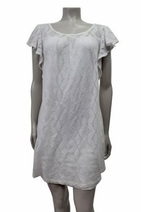 Ella Moss short dress White Sedona Knit on Tradesy