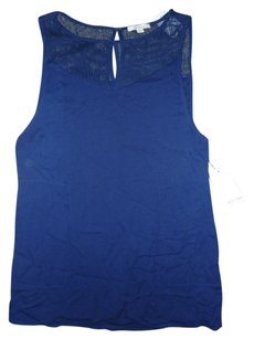 Ella Moss short dress Blue Shift Mesh on Tradesy