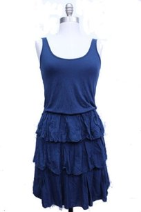 Ella Moss Navy Scoop Dress