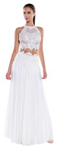 Ema Savahl White Top Dress