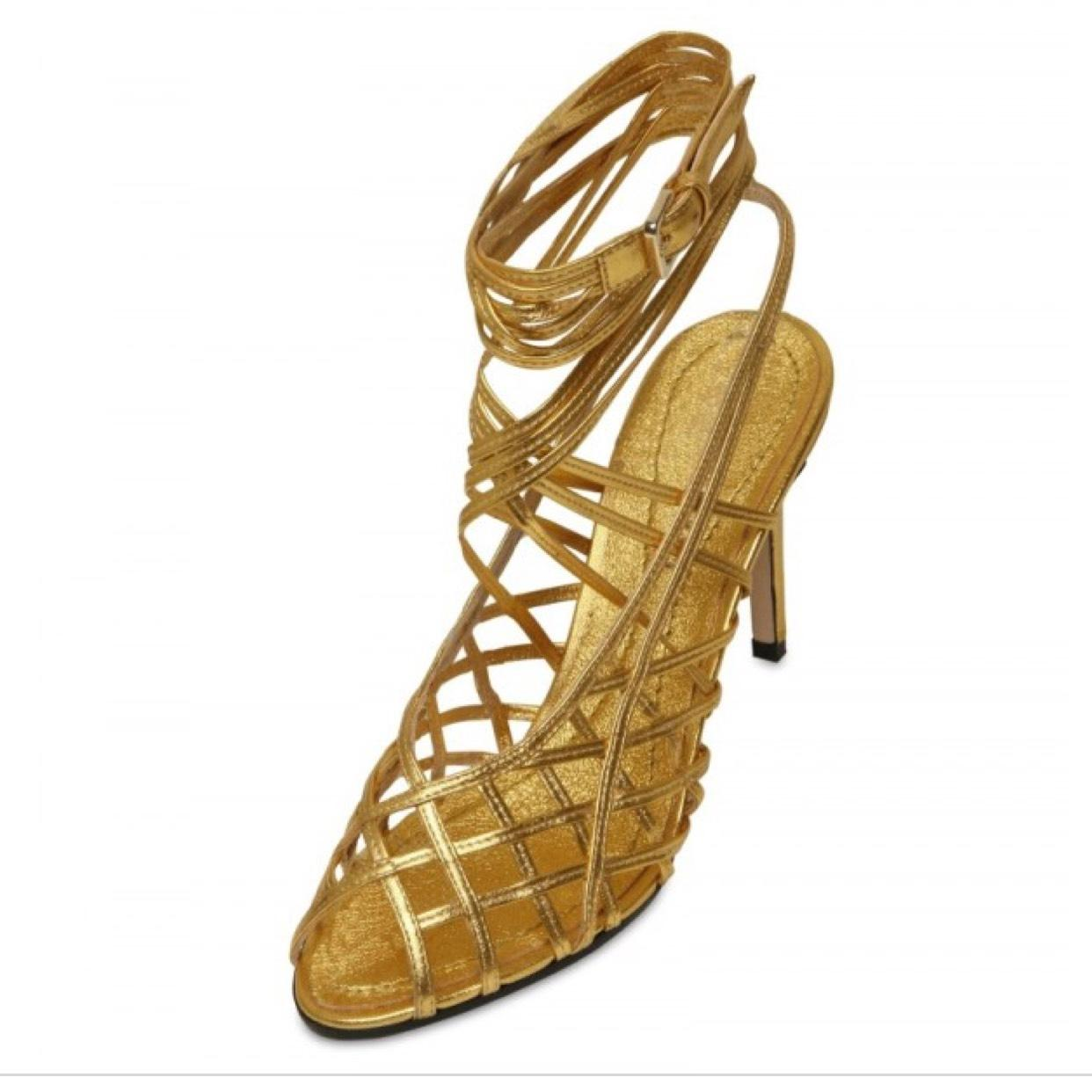 Emilio Pucci Leather Cage Sandals fashionable online outlet store sale online nicekicks for sale cheap for sale 0PVihPc