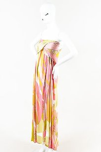 Multi-Color Maxi Dress by Emilio Pucci Multicolor Knit