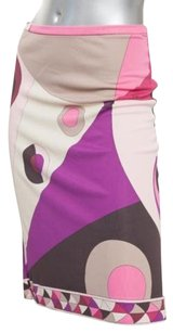 Emilio Pucci Womens Pink Skirt Multi-Color