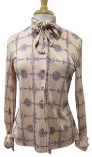 Emilio Pucci Vintage Button Down Shirt Pink