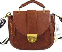 Emma Fox Leather Dales Satchel in Brown