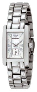Emporio Armani Women's Mother of Pearl Dial Stainless Steel Watch AR0171