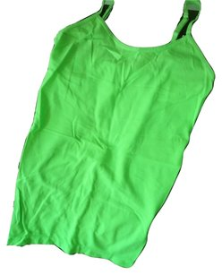 Energie Nylon Spandex Top Neon Green