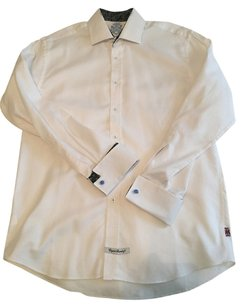 English Laundry Button Down Shirt White