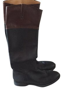 Enzo Angiolini Black and brown Boots