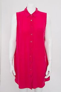 Equipment short dress Pink Femme Bright on Tradesy