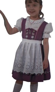Ernst Licht short dress Plum Children's Octoberfest German Outfit Girls Dirndl Costume on Tradesy