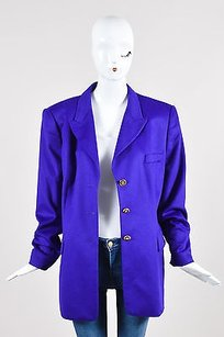 Escada Rabbit Wool Purple Jacket