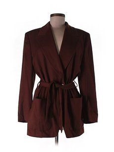 Escada Belted Brown Jacket