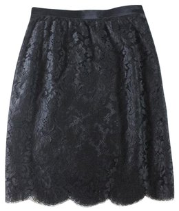Escada Black Midnight Pencil Skirt