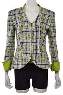 Escada Womens Blazer White Jacket