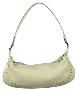 Escada Womens Textured Leather Casual Hobo Bag