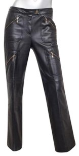 Escada Womens Leather Pants