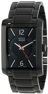ESQ Esq By Movado Synthesis Black Ion Mens Watch 07301411