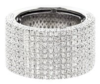EstieG! Colection 9 Row Diamond Pave' Band