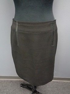 Etcetera Polyester Blend Lined Fitted Pencil Sma2029 Skirt Black