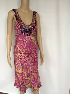 Etro Color With An Silhouette Made In Italy Us4 Dress
