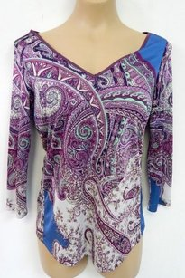 Etro Milano Multi Print Sweater