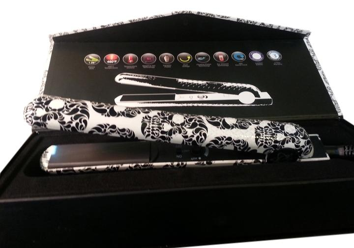 Evalectric The New Evolution flat iron 100% ceramic plates 1.25 Skull Fashion ...  sc 1 st  Tradesy & Evalectric Skull Fashion The New Evolution Flat Iron Ceramic Plates ...