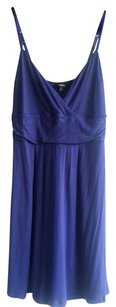Express short dress Purple Cover Up Slip Rouching on Tradesy
