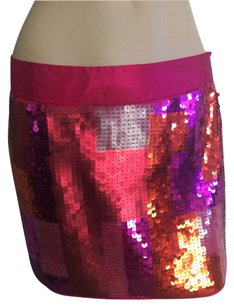 Express Mini Skirt Hot Pink.