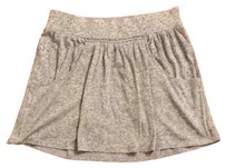 Express Skirt Light Gray