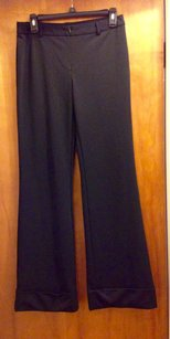 Express Spandex Polyester Long Flare Pants Black
