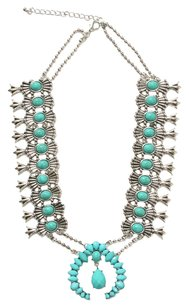 Eye Candy Los Angeles Eye Candy Los Angeles Charlotte Teal Necklace
