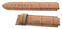 Faconnable Faconnable Pink Leather Strap - No Clasp