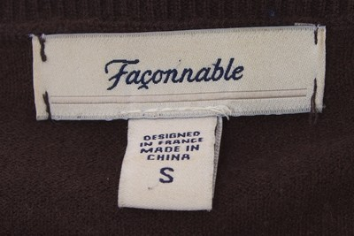 Façonnable Cashmere Wool Cardigan