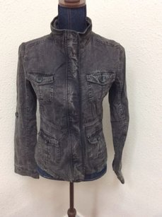 Fang Cotton Stretch Gray Jacket