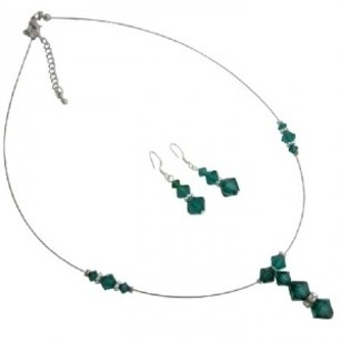 Emerald Green Wedding Jewelry Inexpensive Under $15 Jewelry