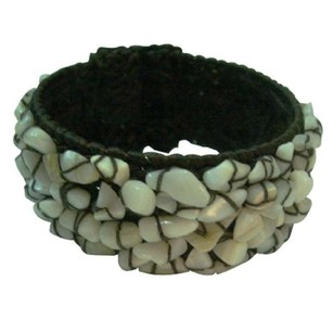 Smart Gift Wax Chord Bracelet W/ Natural Nuggets