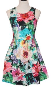 FELICITY & COCO short dress Multi Floral on Tradesy