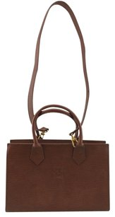 Fendi Roma Vintage Tote in Brown