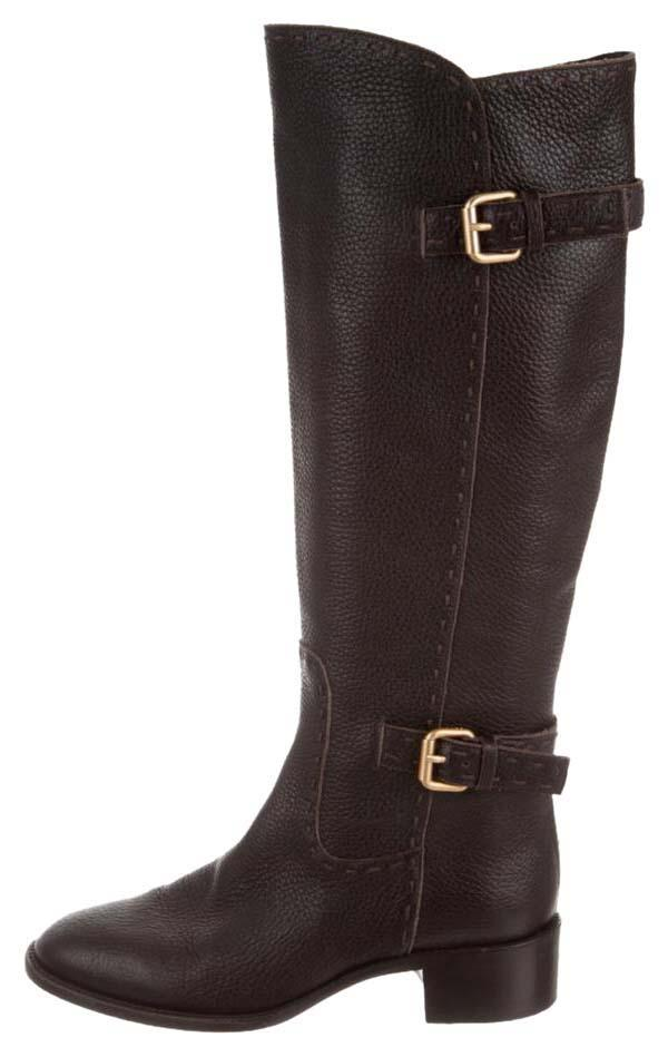 Fendi Selleria Knee-High Boots official site online Cheapest discount price SwDakDSk4