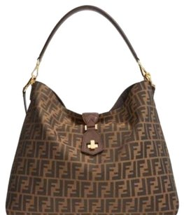 Fendi Brown Hobo Shoulder Bag