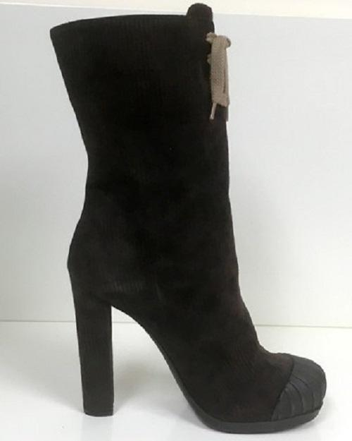 1438b0f6df2a7 ... Fendi Brown Moro1076 Boots Booties Boots Booties Boots Booties Size US  8.5 Regular ...