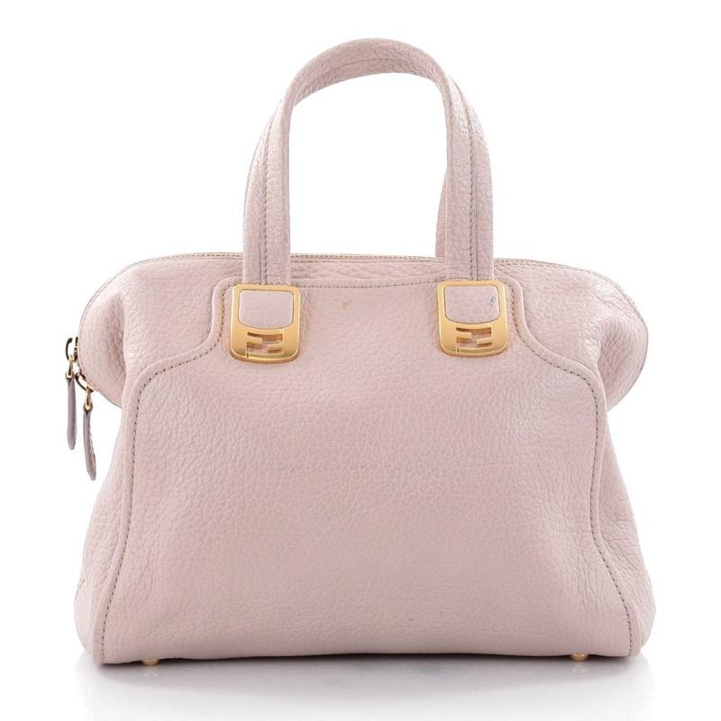 Fendi Chameleon Convertible Satchel Leather Small 5P0rBYADS