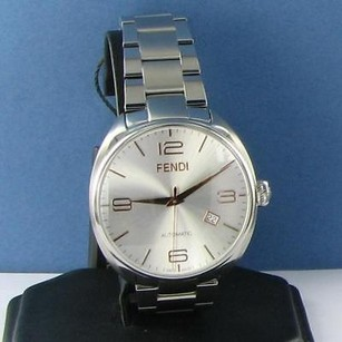 Fendi Fendi Fendimatic F201016000 Silver Dial Automatic 42mm Steel Watch