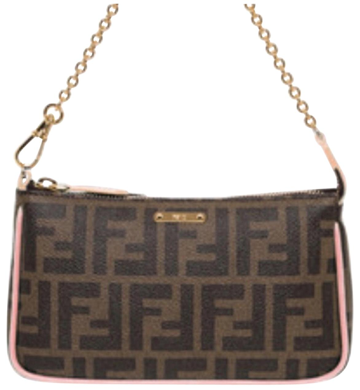 logo pouch - Brown Fendi For Cheap Sale Online For Sale Purchase Cheap Online Outlet Professional tvLD29b