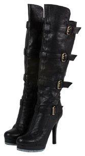 Fendi Kneehigh Black Boots