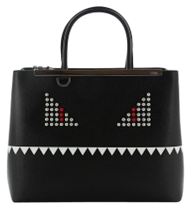 shopper tote bag - Black Fendi zKy0WTw4w0