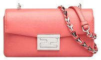 Fendi Nappa Leather Cross Body Bag