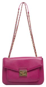 Fendi Fuchsia Cyclamen Shoulder Bag